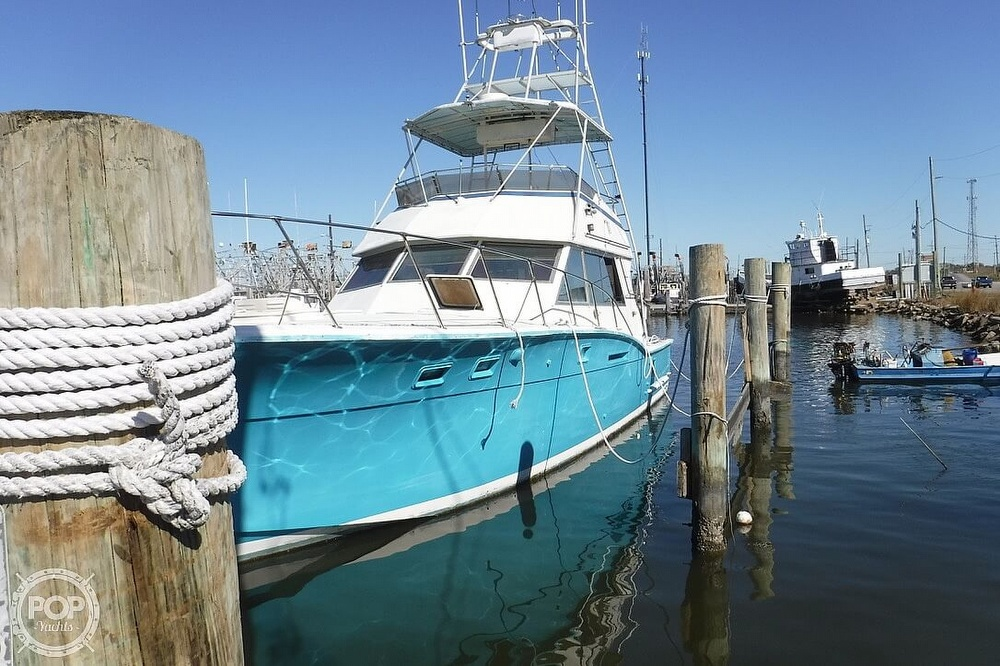 1977 Hatteras boat for sale, model of the boat is 46 Convertible & Image # 11 of 40