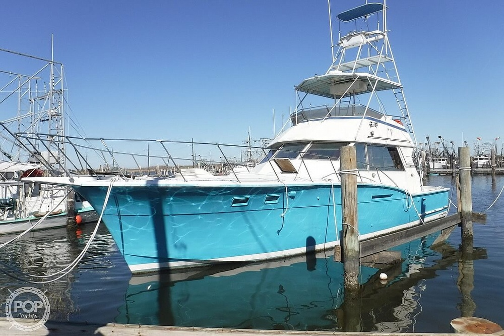 1977 Hatteras boat for sale, model of the boat is 46 Convertible & Image # 13 of 40