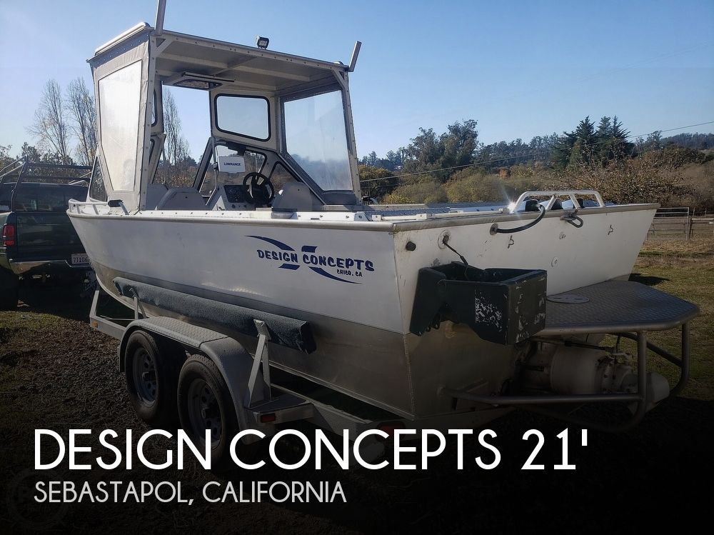 1994 Design Concepts boat for sale, model of the boat is 20 & Image # 1 of 40
