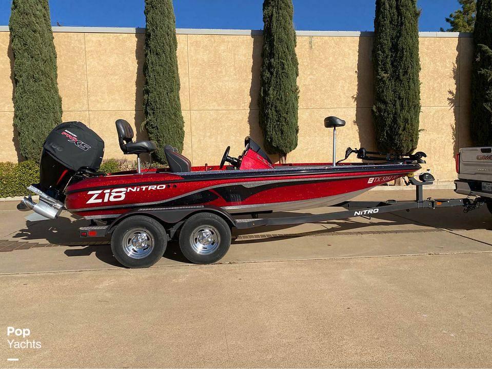 2020 Nitro boat for sale, model of the boat is Z18 & Image # 2 of 12