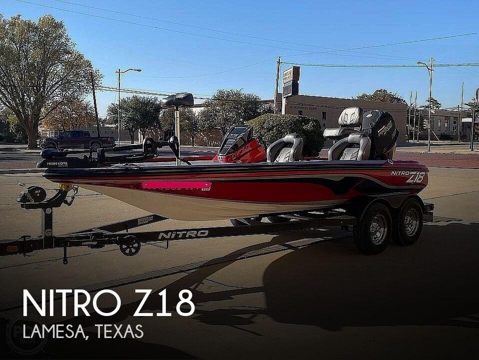 2020 Nitro boat for sale, model of the boat is Z18 & Image # 1 of 12