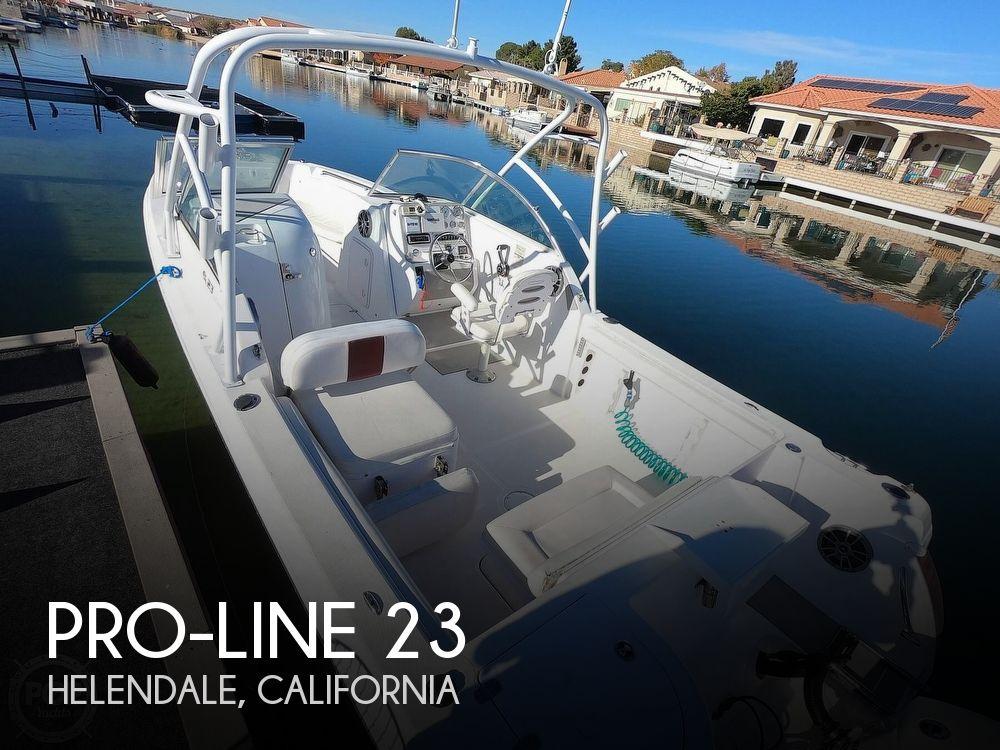 2008 Pro-Line boat for sale, model of the boat is 23 Dual Console & Image # 1 of 41
