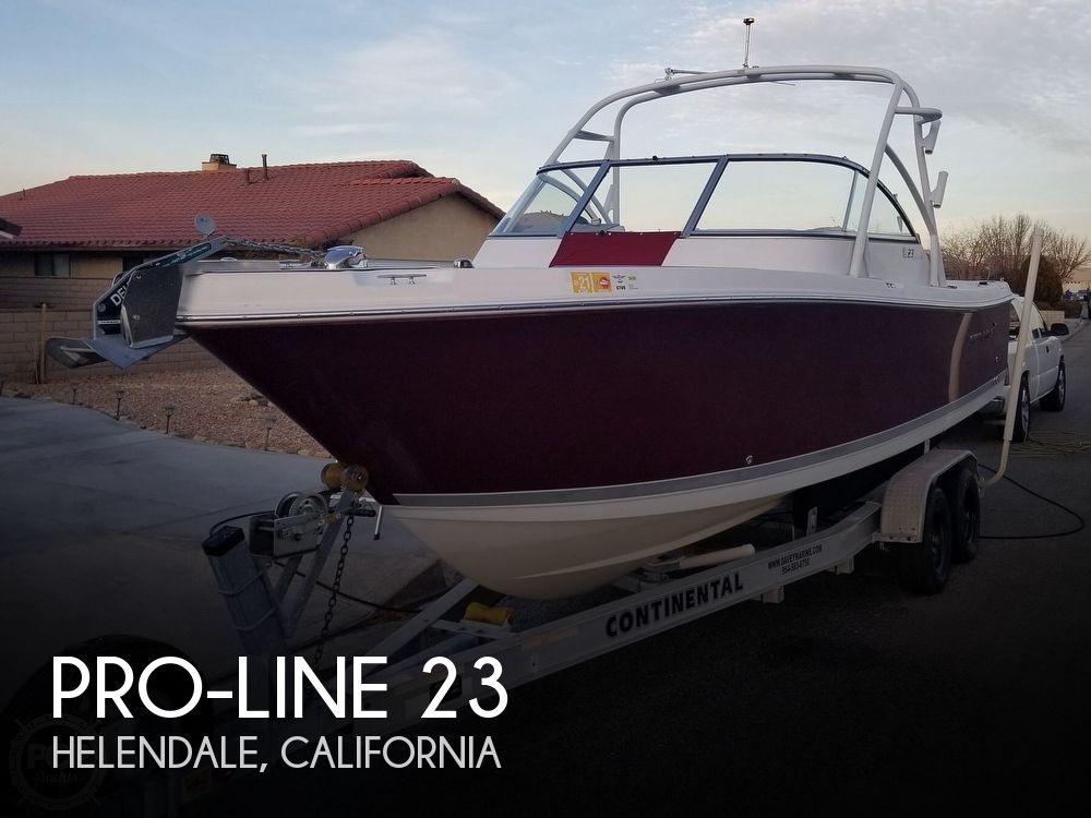 2008 Pro-Line boat for sale, model of the boat is 23 Dual Console & Image # 1 of 40