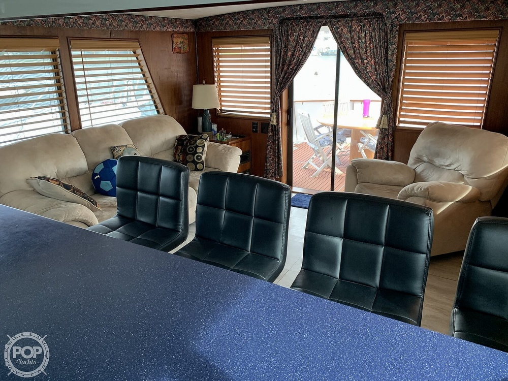 1977 Hatteras boat for sale, model of the boat is 58 Motor Yacht & Image # 10 of 40