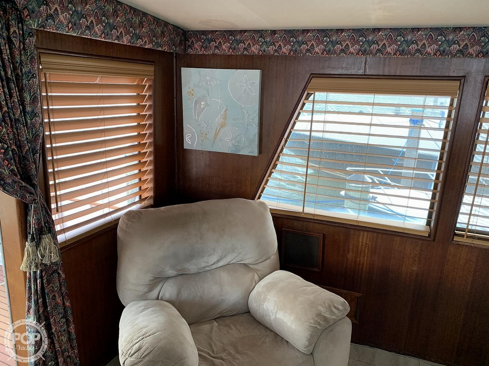 1977 Hatteras boat for sale, model of the boat is 58 Motor Yacht & Image # 12 of 40