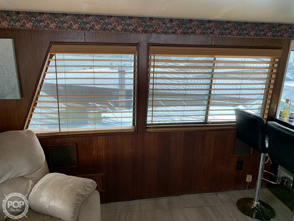 1977 Hatteras boat for sale, model of the boat is 58 Motor Yacht & Image # 13 of 40