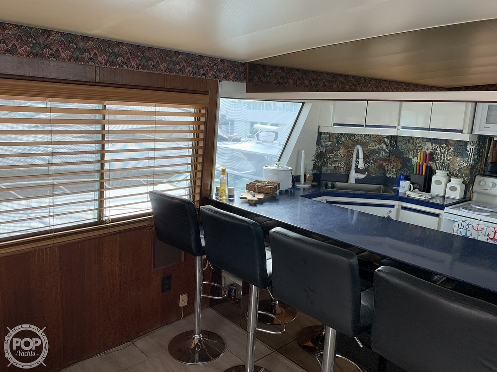 1977 Hatteras boat for sale, model of the boat is 58 Motor Yacht & Image # 14 of 40