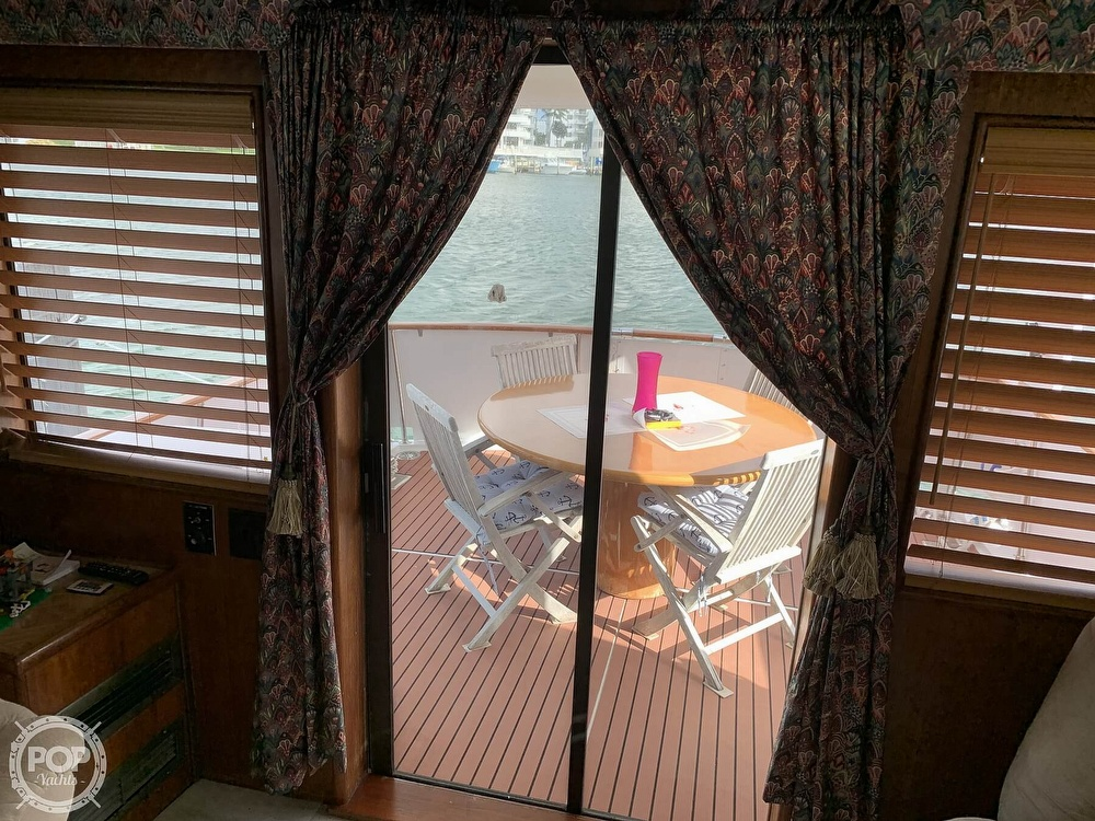1977 Hatteras boat for sale, model of the boat is 58 Motor Yacht & Image # 19 of 40
