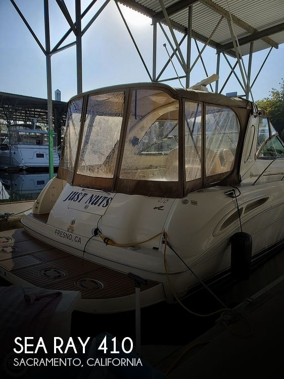 Used Sea Ray Boats For Sale in California by owner | 2000 Sea Ray 410 Sundancer