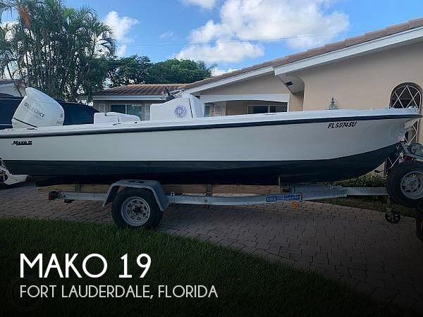 1973 Mako boat for sale, model of the boat is 19 & Image # 1 of 18