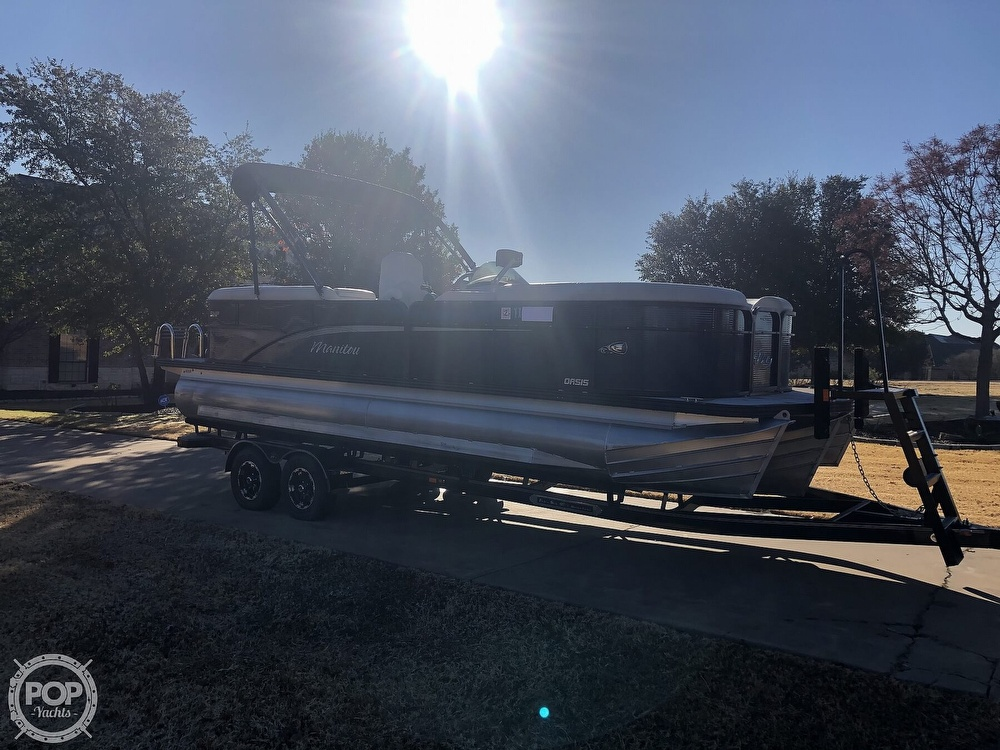 2018 Manitou boat for sale, model of the boat is 23 Oasis SHP & Image # 25 of 40
