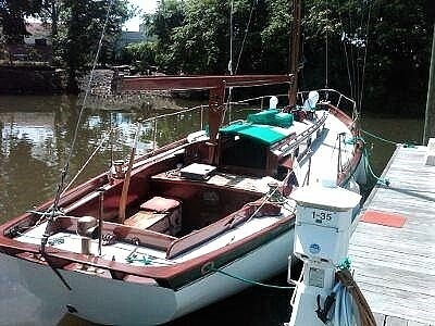 1939 Lawley boat for sale, model of the boat is 35 Weekender & Image # 2 of 11