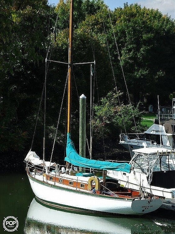 1939 Lawley boat for sale, model of the boat is 35 Weekender & Image # 3 of 11