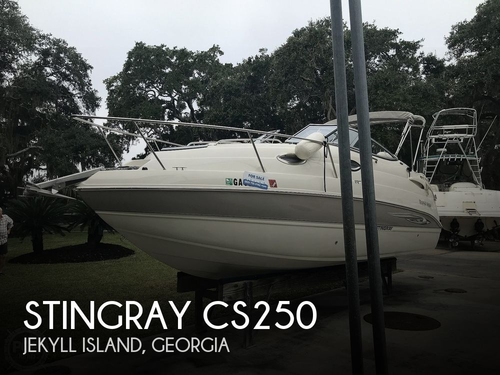 2008 Stingray boat for sale, model of the boat is CS250 & Image # 1 of 40