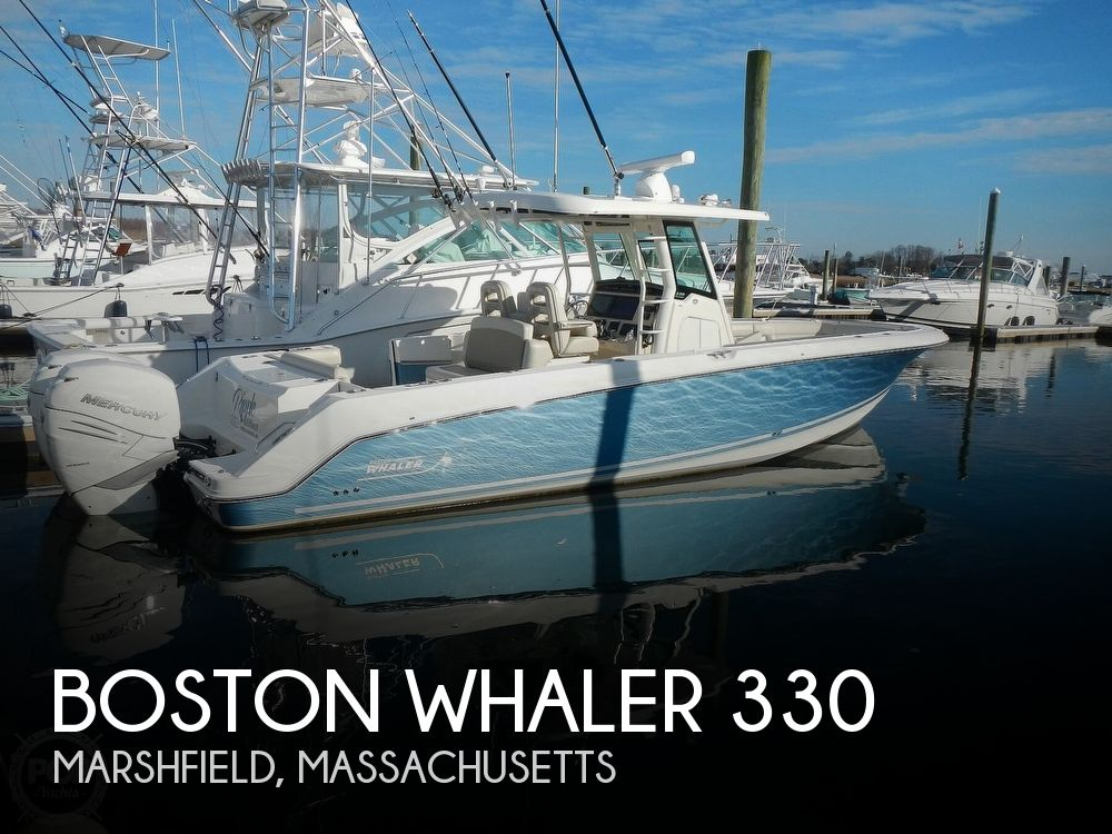 2018 Boston Whaler boat for sale, model of the boat is 330 Outrage & Image # 1 of 40