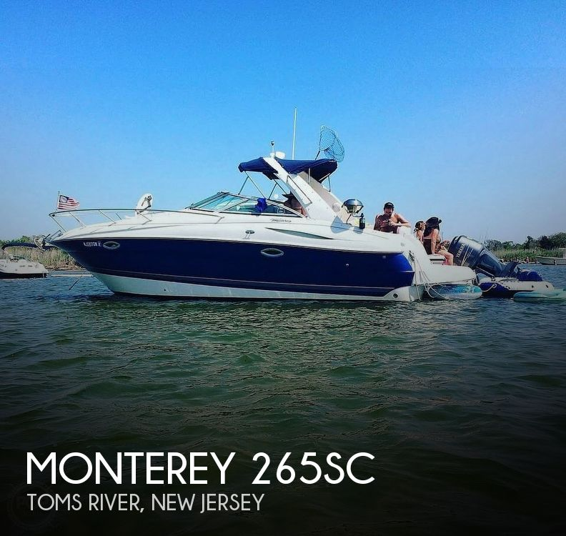 2003 Monterey boat for sale, model of the boat is 265sc & Image # 1 of 1