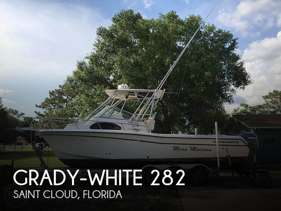 2002 Grady-White boat for sale, model of the boat is 282 Sailfish & Image # 1 of 40