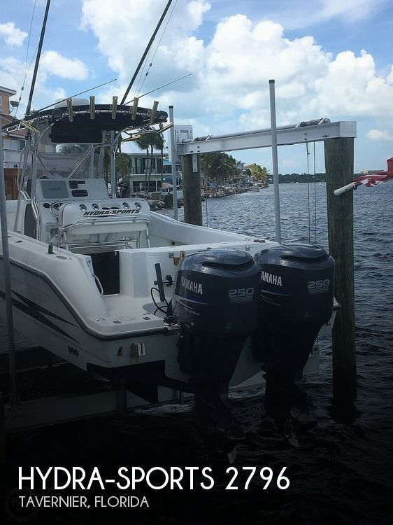 2000 Hydra-Sports boat for sale, model of the boat is 2796 Vector & Image # 1 of 40