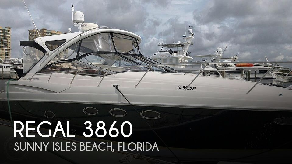 Used Regal Boats For Sale in Florida by owner | 2006 Regal Commodore 3860