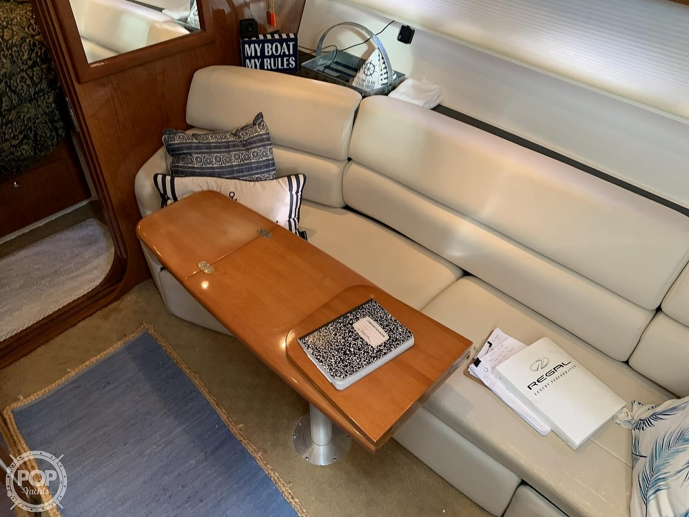 2006 Regal boat for sale, model of the boat is Commodore 3860 & Image # 11 of 40