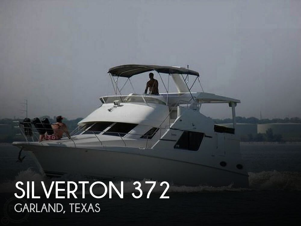 1997 Silverton boat for sale, model of the boat is 372 & Image # 1 of 40