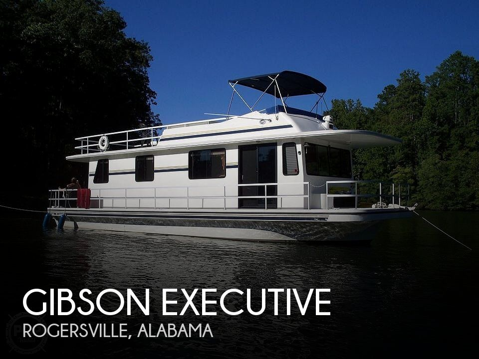 Used Houseboats For Sale in Alabama by owner | 2001 44 foot Gibson Executive