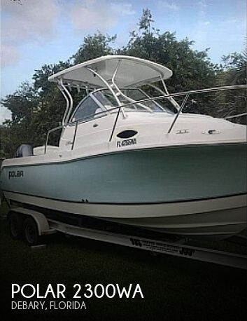 Used Polar Boats For Sale by owner | 2006 Polar 2300WA
