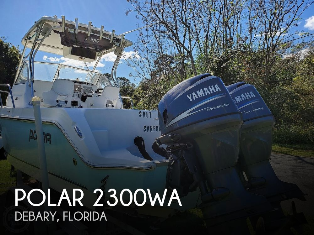2006 Polar boat for sale, model of the boat is 2300WA & Image # 1 of 40
