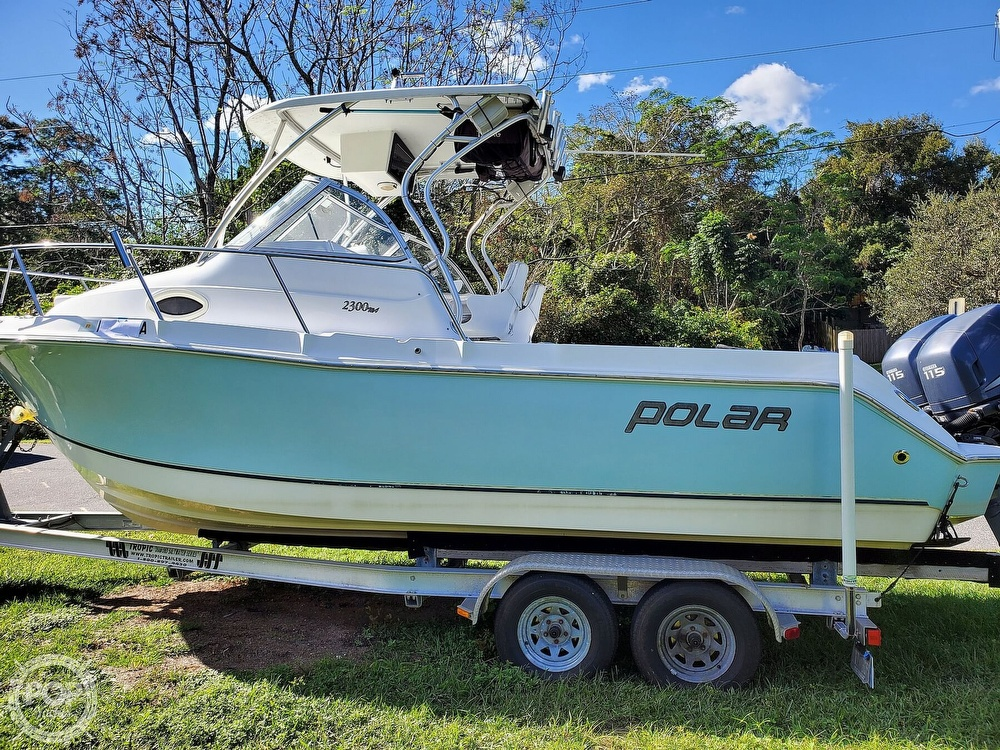 2006 Polar boat for sale, model of the boat is 2300WA & Image # 3 of 40