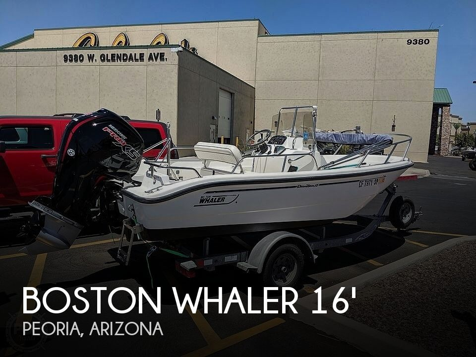 Used Boston Whaler Dauntless Boats For Sale by owner   2001 16 foot Boston Whaler Dauntless