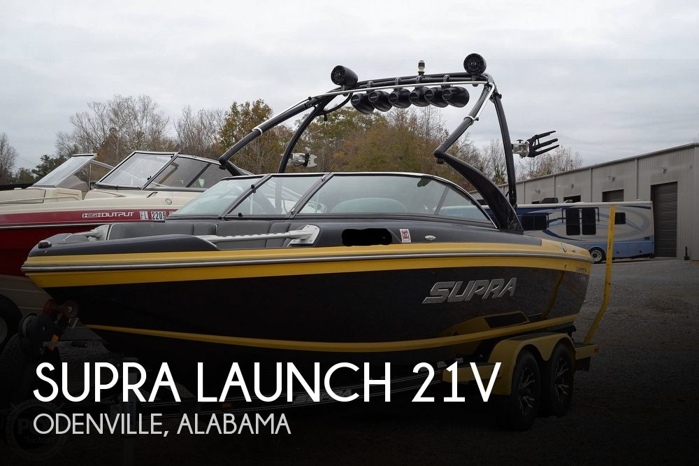 2012 Supra boat for sale, model of the boat is Launch 21V & Image # 1 of 40