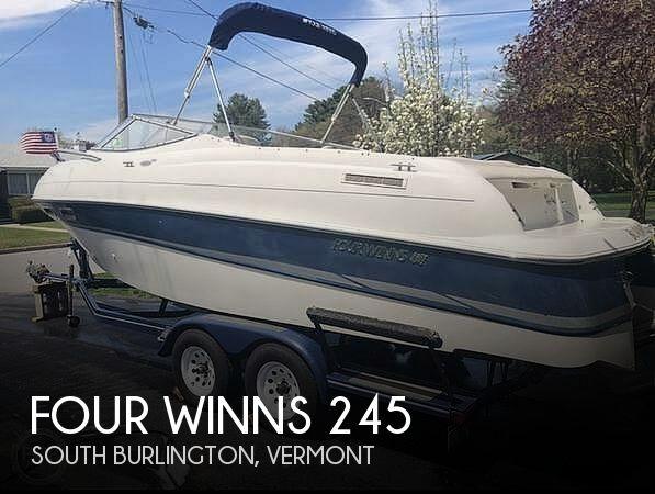 Used Four Winns 24 Boats For Sale by owner | 2002 Four Winns Sundowner 245