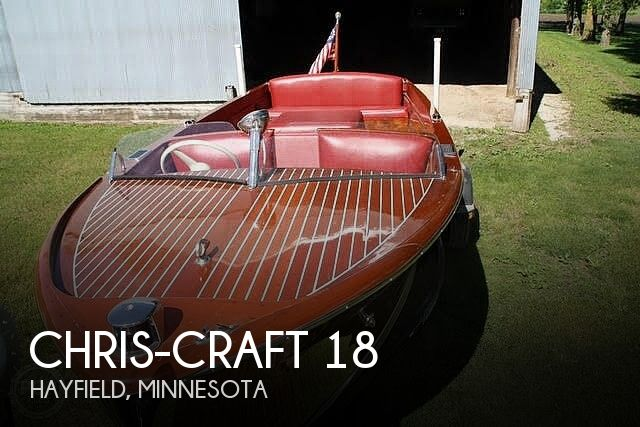 1947 Chris Craft boat for sale, model of the boat is Utility 18 & Image # 1 of 7