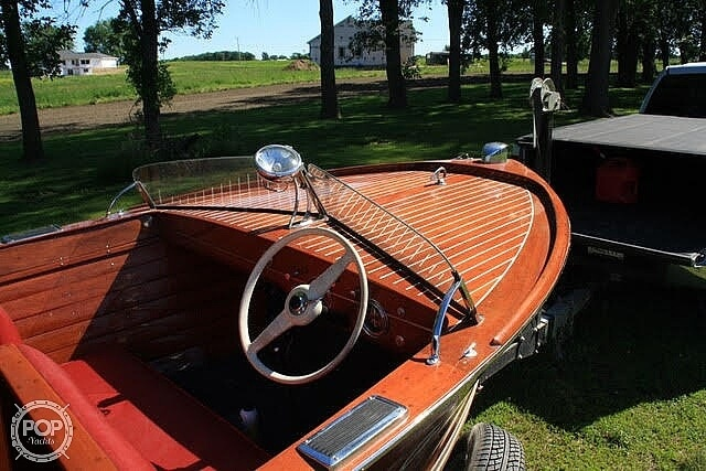 1947 Chris Craft boat for sale, model of the boat is Utility 18 & Image # 4 of 7