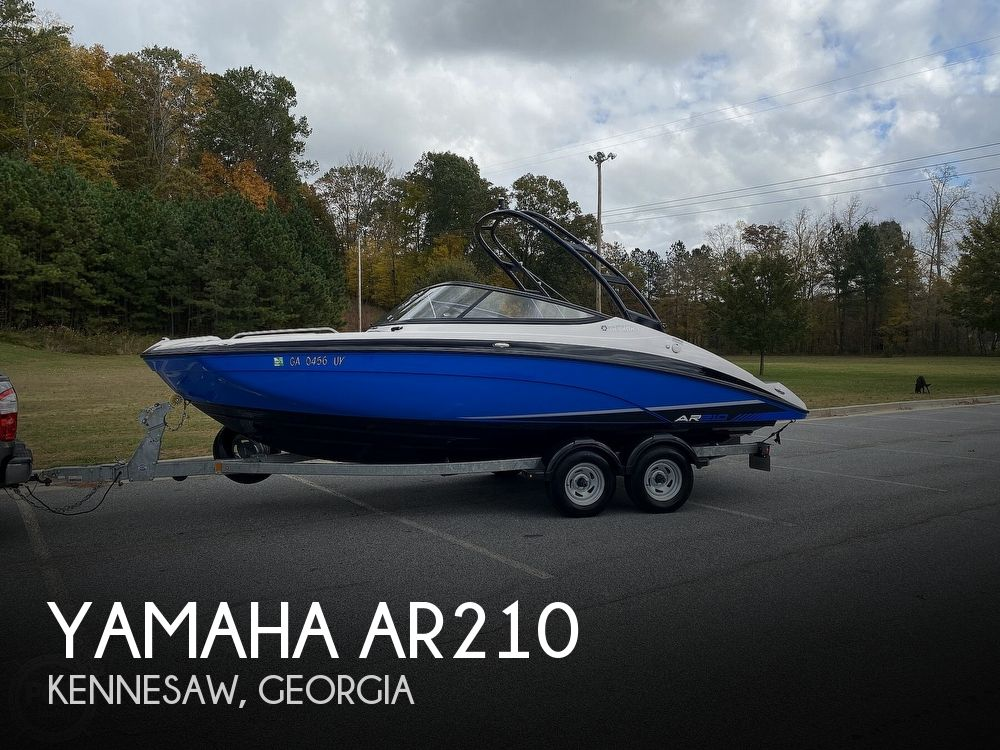 Used Yamaha Ski Boats For Sale by owner | 2017 Yamaha AR210