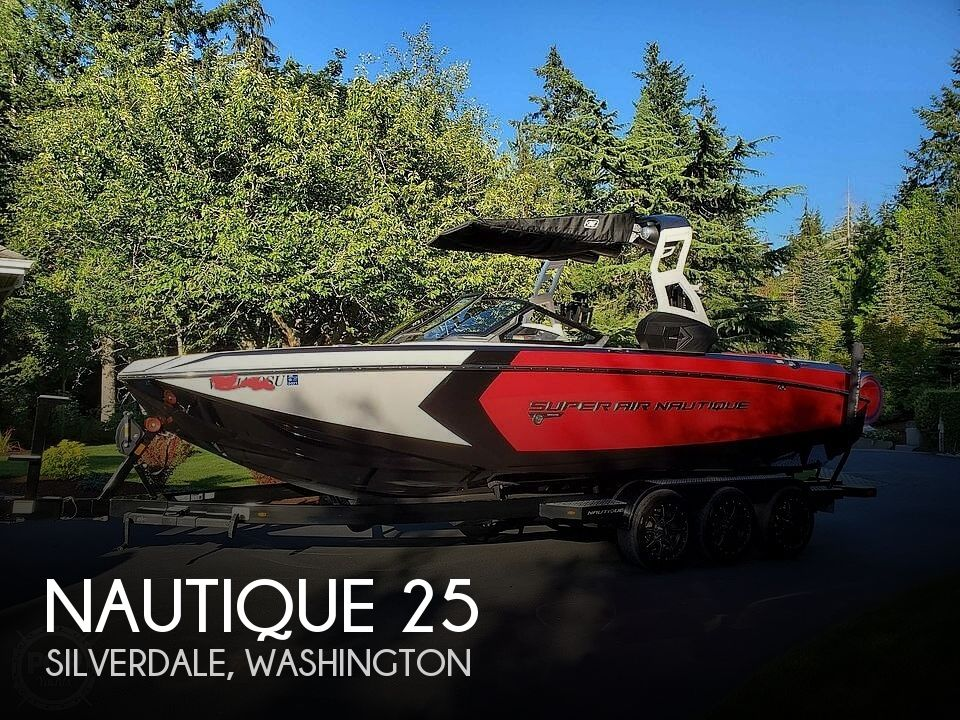 Used Boats For Sale in Olympia, Washington by owner | 2019 Nautique Super Air G25