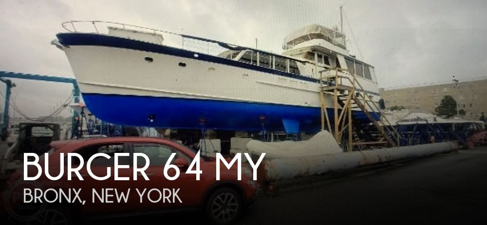 Used Motoryachts For Sale in New York by owner | 1960 Burger 64 MY