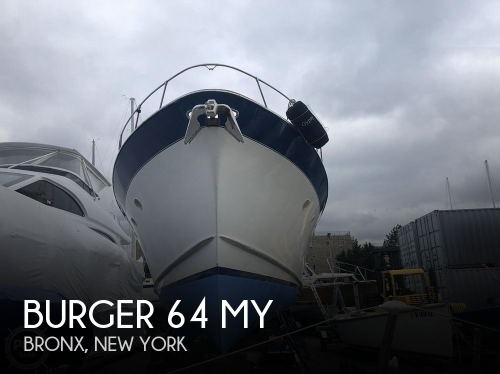 1961 Burger boat for sale, model of the boat is 64 MY & Image # 1 of 40