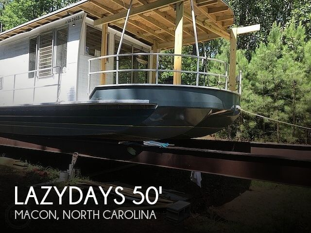 Used Houseboats For Sale in Rocky Mount, North Carolina by owner | 1968 Lazydays 50'