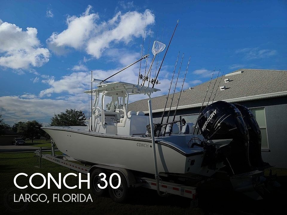 2020 Conch boat for sale, model of the boat is 30 & Image # 1 of 40