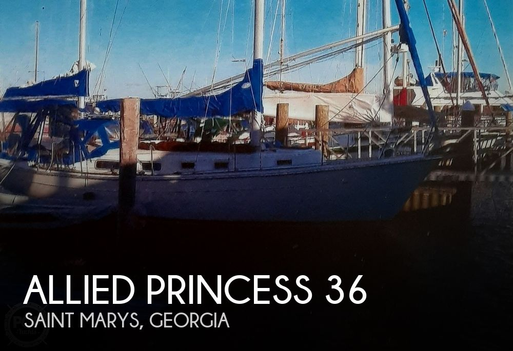 Used Sailboats For Sale in Georgia by owner | 1977 Allied Princess 36