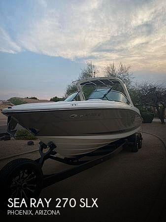 Used Boats For Sale in Phoenix, Arizona by owner | 2008 Sea Ray 270 SLX
