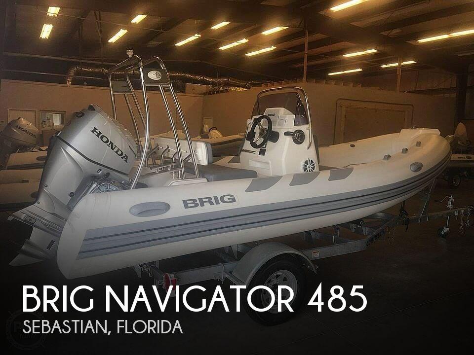 Used Brig Boats For Sale by owner | 2018 Brig Navigator 485