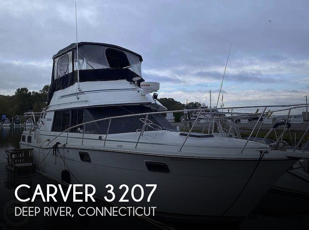 1986 CARVER 3207 for sale