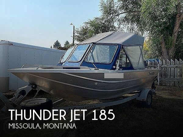Used Boats For Sale in Montana by owner | 2015 Thunder Jet 185 Explorer