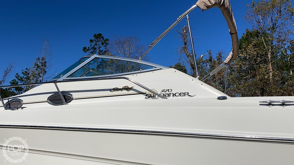 1999 Sea Ray boat for sale, model of the boat is 270 Sundancer & Image # 7 of 40