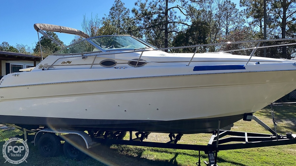 1999 Sea Ray boat for sale, model of the boat is 270 Sundancer & Image # 9 of 40