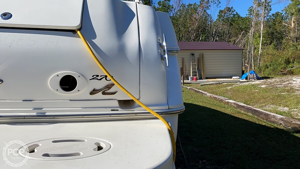1999 Sea Ray boat for sale, model of the boat is 270 Sundancer & Image # 17 of 40