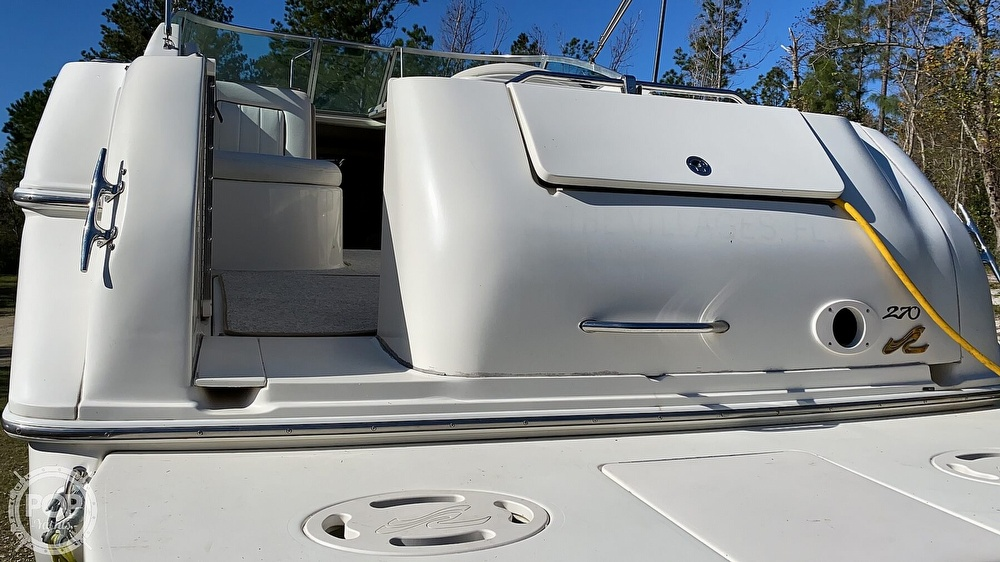 1999 Sea Ray boat for sale, model of the boat is 270 Sundancer & Image # 20 of 40
