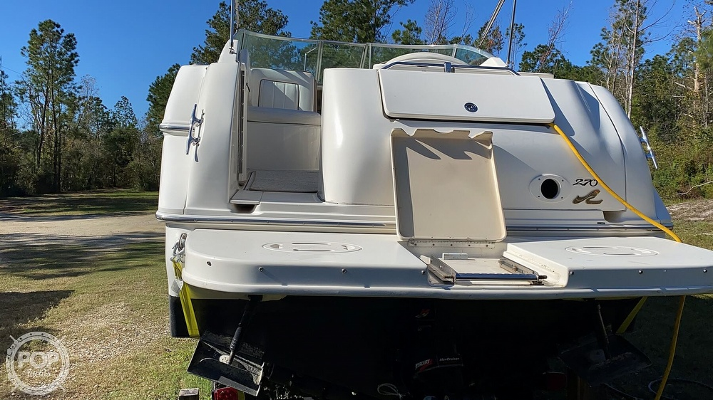 1999 Sea Ray boat for sale, model of the boat is 270 Sundancer & Image # 24 of 40